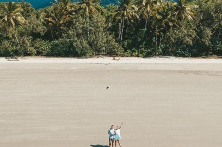 myall beach in cape tribulation