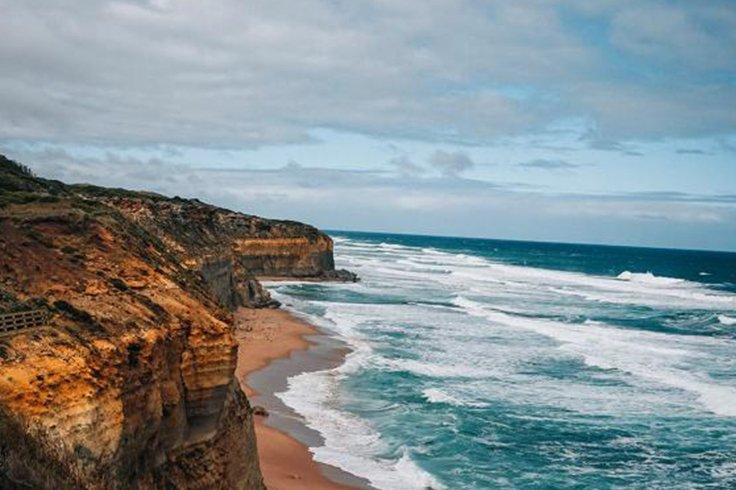 Great Ocean Road cliff face